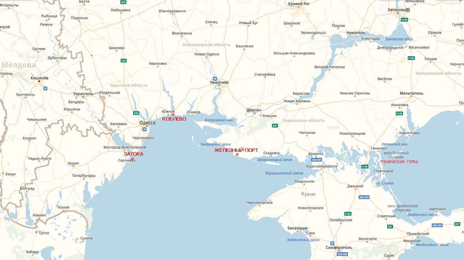Avtobusnye Tury V Zheleznyj Port Hersonskuyu Oblast Iz Minska 2020